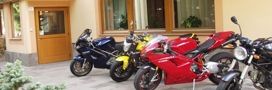 Vacanze in moto Val di Fassa